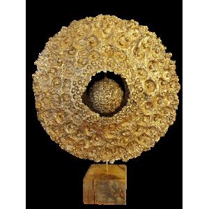 Sculpture sur socle - Saturna
