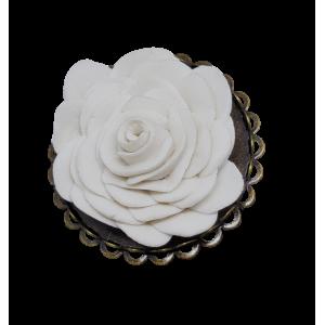 Broche Petite rose prodigieuse
