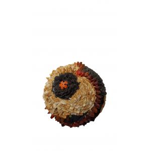 Sphère fleurs : Soleil
