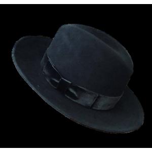 Chapeau Fedora - Black Velvet