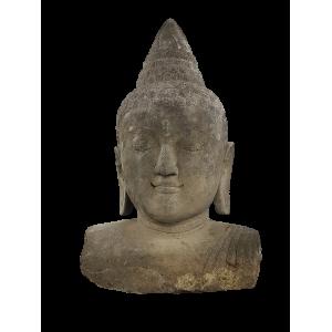 Sculpture pierre Bali -...