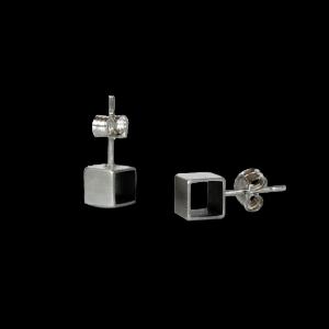 Boucles d'oreilles Cube