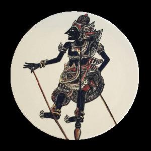 Dessous de plat Wayang Krishna
