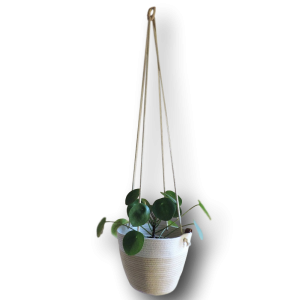 Suspension florale - Beige