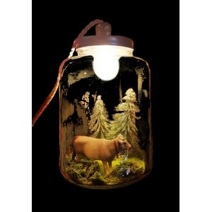 Lampe - La vache sans le...