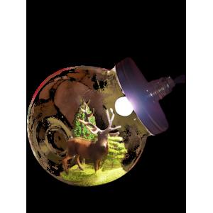 Lampe - Le roi de la forêt