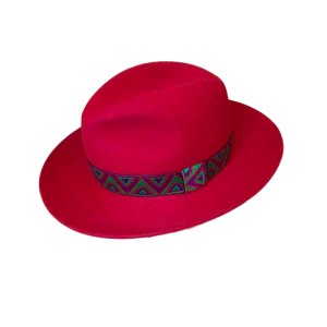 Chapeau Fedora - Indian Red