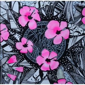 Pink Pok Flowers