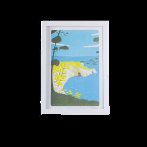 Risographie - L'île vierge...