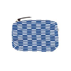 Pochette Carré rayé - Bleu