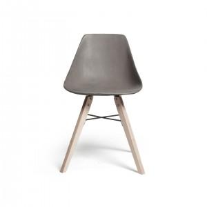 Hauteville – Chaise pieds bois